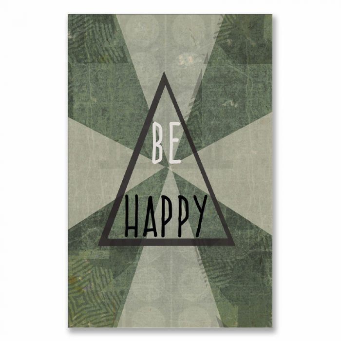 poster Be happy