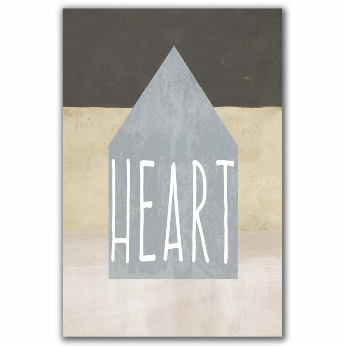 Poster Heart Home